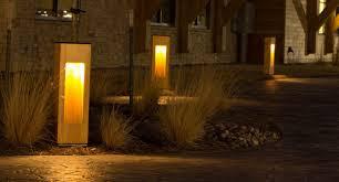 concrete bollard lighting fixtures structura urban exterior outdoor bollard lighting style bistrodre