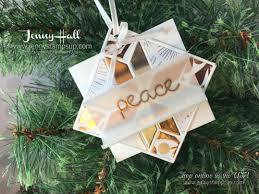 christmas ornament tutorial series project 3 with video jenny