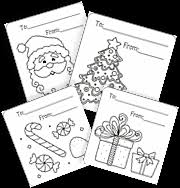 free coloring cards u0026 tags for christmas squishy cute designs