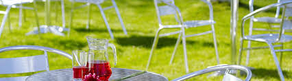 Chrome Bistro Chairs Outdoor Furniture Hire Outdoor Table Hire In London U0026 Uk