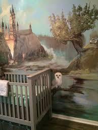 a harry potter inspired nursery project nursery 13 14