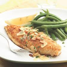 Trout Amandine Catfish Amandine Recipe Eatingwell