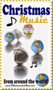 christmas music from around the world great for a homeschool or