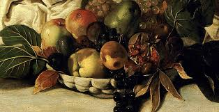 Basket Of Fruit Basket Of Fruit Detail Bacchus Painting By Caravaggio