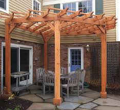 Pergola Kits Cedar by All Access Fence U0026 Fabrication Arbors U0026 Pergolas 303 324 7977