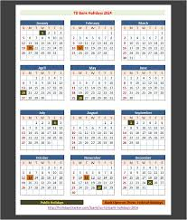 td bank us holidays 2014 holidays tracker