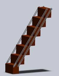 space saving stairs u2013 the tiny life
