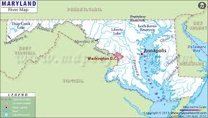 Maryland lakes images Maryland rivers map rivers in maryland jpg