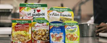 plat cuisiné fleury michon plats cuisinés riches en légumes viandes poissons fleury michon