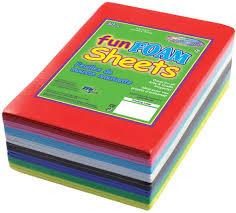 multicraft imports foam sheets craft foam sheets foam sheet