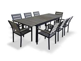urban furnishings 9 piece extendable outdoor dining set u0026 reviews