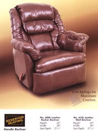 Leather Rocker Recliner Index