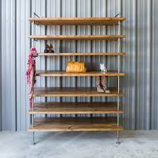 Industrial Closet Organizer - pipe shelving ideal for retail commercial and closet storage