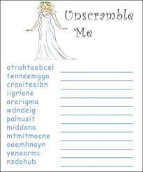 printable bridal shower games for free we also have lots of game