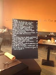 l ivre de cuisine restaurant the wall with a quotation picture of l ivre de cuisine