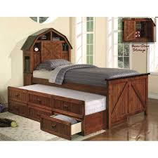 Trundle Bed Bedroom Cozy Bedroom Decoration With Wooden Trundle Beds Plus