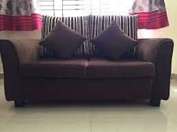 big pillows for sofa three plus two sofa set dark brown big and small pillows
