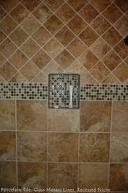 italian porcelain subway backsplash decobizz com recessed shower niche pictures decobizz com