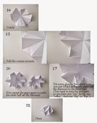 ornaments origami paper diamond paper origami guide
