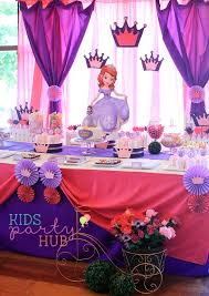 sofia the birthday party ideas sofia the birthday party decorations s party