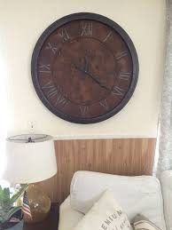 repurposed table top ideas repurposed tabletop to wall clock hometalk