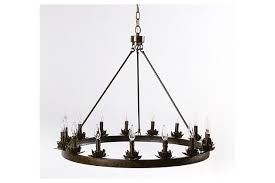 Ring Chandelier Home Accents 15 Light Ring Chandelier Furniture Homestore