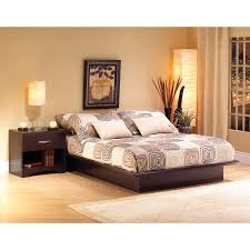 Bad Design Furniture Pakistani Step One Contemporary Bed Frame Queen Chocolate Brown Beds