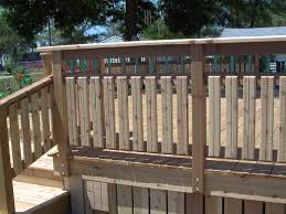 patio railing ideas deck kits lowes porch railing ideas