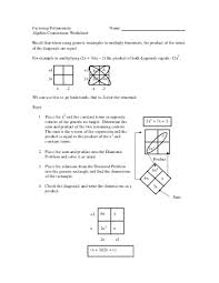 connections with factoring algebra 2 28 images number names