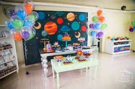 birthday decoration at home for kids home inspired alien birthday party via kara s party ideas the