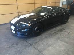 Black Mustang Grey Stripes 2016 Mustang Shelby Gt350 Technology Pkg Navigation Shadow Black