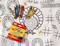thanksgiving table cover kids coloring and activity thanksgiving tablecloth