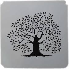istencils 5 x 5 stencil primitive tree of joggles