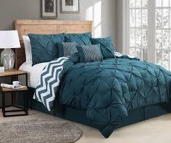 Teal Bed Set Teal Comforter Set Queen Teal Bedding Sets 7 Piece Bed Skirt Sham