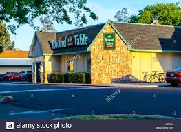 round table pizza santa ana a round table pizza restaurant in modesto california stock photo