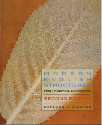 modern english structures second edition broadview press