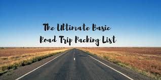 Kansas Travel Packing List images The ultimate basic road trip packing list traveling honeybird png