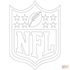 coloring page logo coloring pages nfl page logo coloring pages