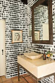 Wallpaper Powder Room Ideas 122 Best Wallpaper Images On Pinterest Home Room And Wallpaper