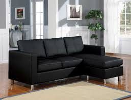 Convertible Sectional Sofa Bed Black Leather Convertible Sofa