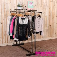 iron clothing 2018 wrought iron clothing rack clothing store display racks