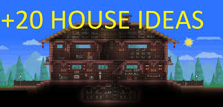 House Design Games Mobile by Amazing Terraria House Ideas 20 House Ideas Part 1 Youtube
