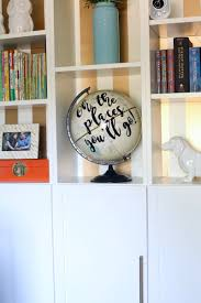 Easy To Make Home Decorations Easy U0026 Adorable Diy Globe Art Love U0026 Renovations