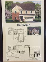 Rome Floor Plan Ryan Homes by Southgate Single Family Homes In Stafford County Northern