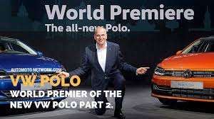 2018 volkswagen polo dr herbert diess chairman of the board of