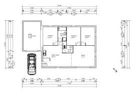 plan de maison plain pied gratuit 3 chambres plan maison gratuit pdf plan de maison en u gratuit charmant