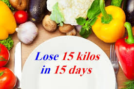 weight loss tips lose 15 kilos in 15 days with this incredible