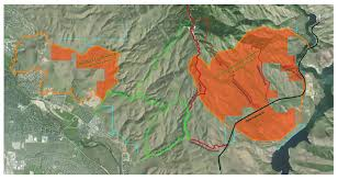 Idaho Fires Map Homestead Trail Now Open Idaho Fish And Game