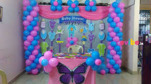 simple baby shower decorations simple baby shower decor birthday simple balloon decorations in