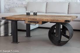 coffee table moderndustrial coffee table custom made by bama